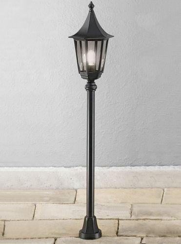 Franklite LA1607-1 Black Post Light